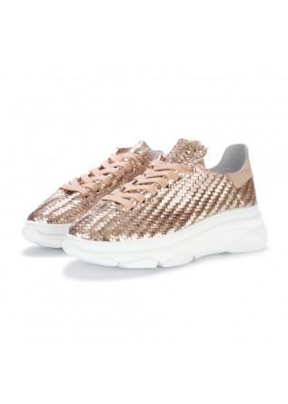 damensneakers stokton spiga rosa metallisch