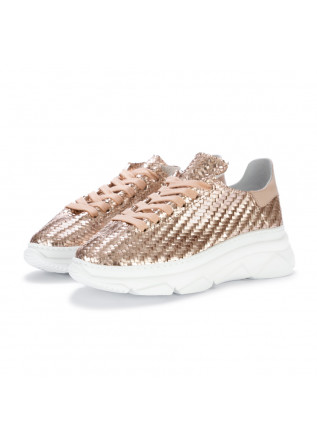 womens sneakers stokton spiga pink metallic