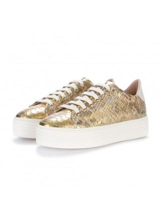 womens sneakers stokton rodolfo gold