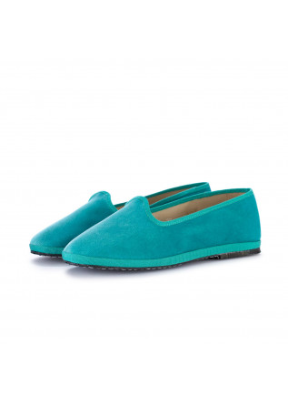 womens flat shoes miez cloe turquoise