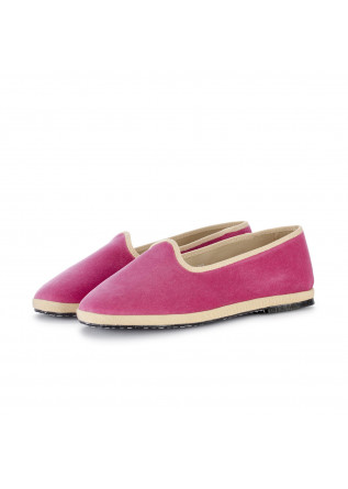 womens flat shoes miez cloe pink beige