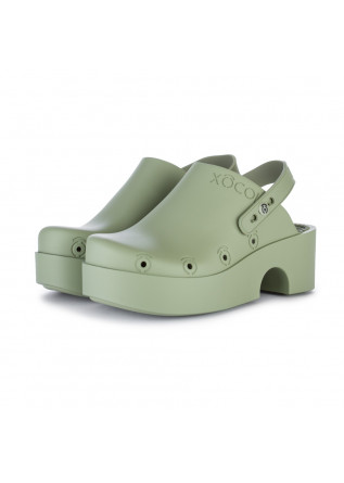 zoccoli donna xocoi verde
