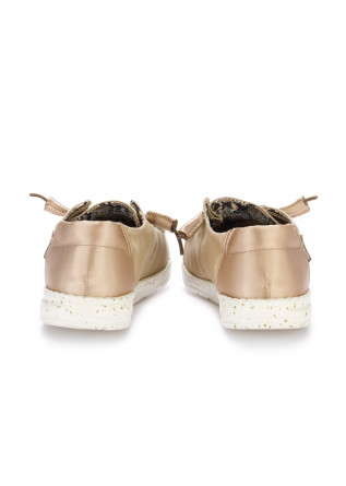 WOMEN'S FLAT SHOES HEY DUDE SHOES | WENDY LIGHT BROWN