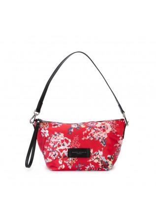 pochette donna gianni chiarini rosso fiori
