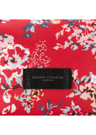 WOMEN'S SHOULDER BAG GIANNI CHIARINI | FLORAL RED TOMFLO