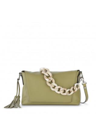 womens shoulder bag gianni chiarini africa green