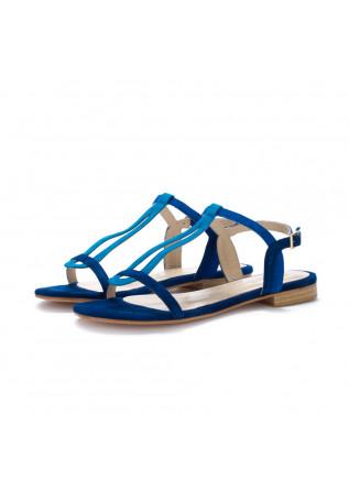 womens sandals positano in love suede blue