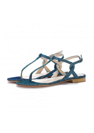 damen thong sandalen positano in love galassia blau