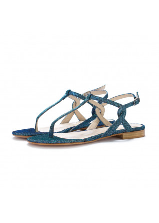 womens thong sandals positano in love galassia blue