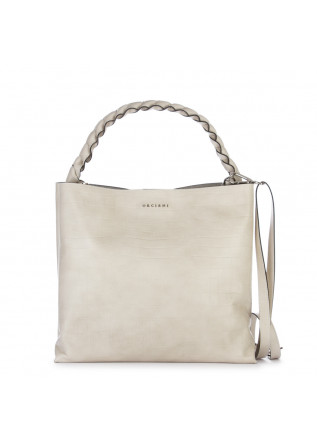womens shoulder bag orciani grace marble white