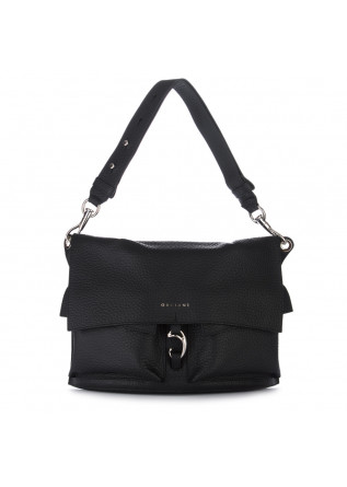 womens shoulder bag orciani scout soft black