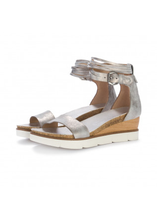 wedge sandals mjus fossile metallic