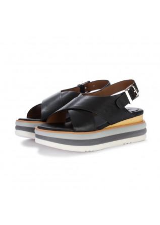 womens sandals rahya grey marion black