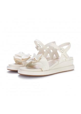 womens sandals elvio zanon cream white