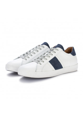 sneakers uomo ago bianco blu