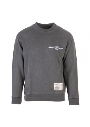sweatshirt unisex wrad rundhals grau