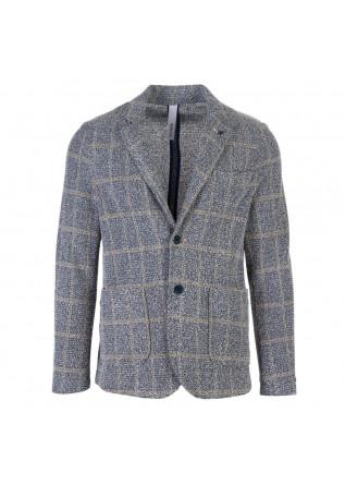 mens jacket distretto12 gauthier blue grey