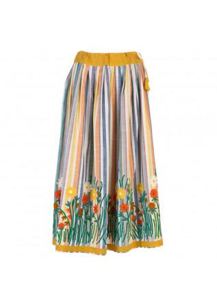 women's skirt francesca bassi bali fiori multicolor