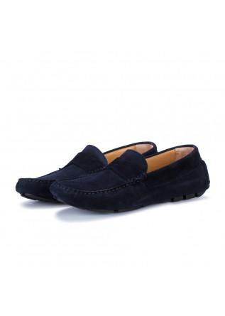 mens loafers manovia 52 vivel blue
