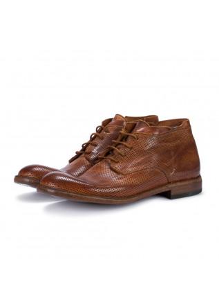 mens lace up shoes manovia 52 cognac brown