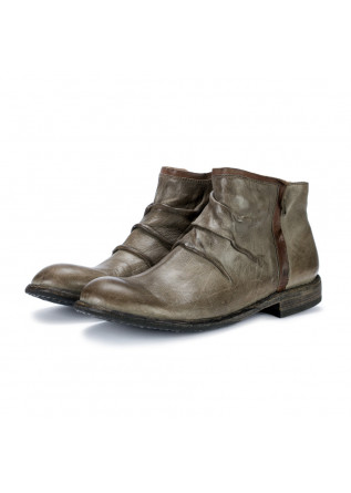 mens ankle boots manovia 52 grey