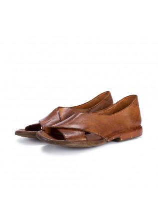 womens sandals manovia 52 cognac brown