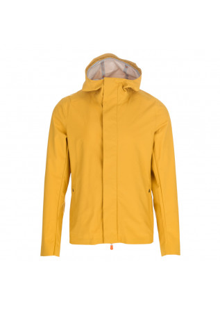 mens wind jacket save the duck cliffton yellow