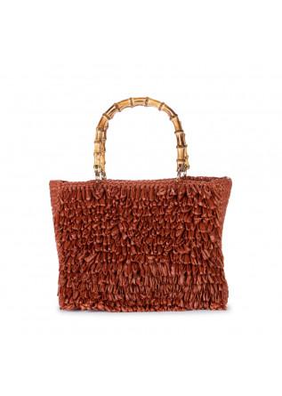 women's handbag chica diamante orange