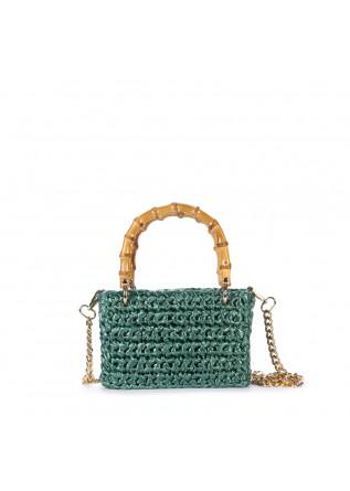 women's handbag chica meteora green