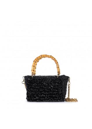 women's handbag chica smeraldo black