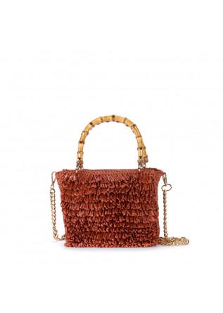 women's handbag chica smeraldo orange