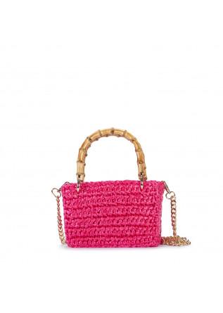 womens handbag chica meteora fuchsia