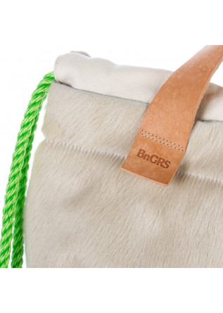 WOMEN'S BACKPACK BNG REAL SHOES | CAVALLINO BEIGE WHITE