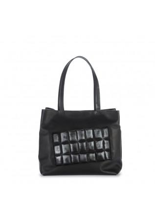 handtasche papucei schwarz silber