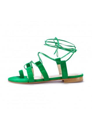 sandali donna positano in love verde amalfi