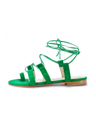 womens sandals positano in love green amalfi