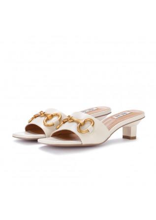 womens sandals bibi lou dacquoise white