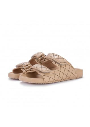 womens slider sandals bibi lou tama beige