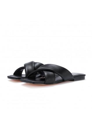 womens slider sandals bibi lou black