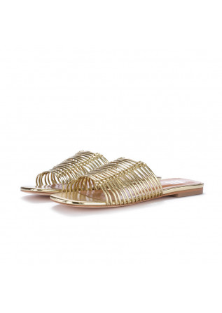 womens sandals bibi lou watermelon gold