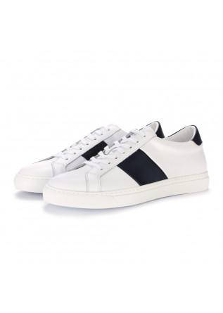 sneakers uomo manovie toscane bianco blu scuro