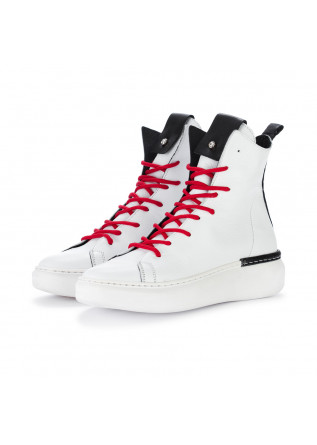 lace up ankle boots rep ko savage white black