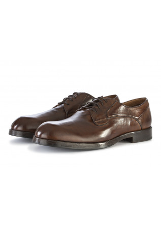 mens lace up shoes delave crust dover brown
