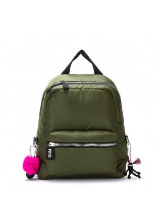 womens backpack gum chiarini camera green