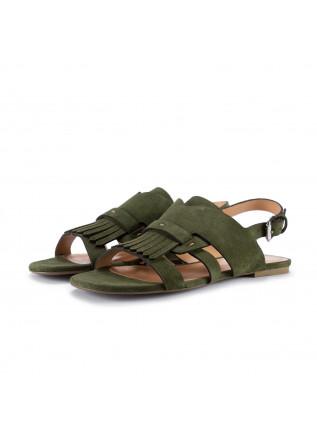 womens sandals miss unique camurcao green