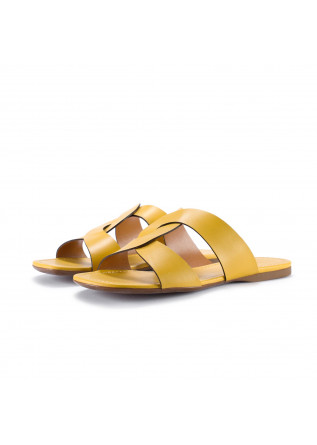 womens sandals miss unique fresia gelb