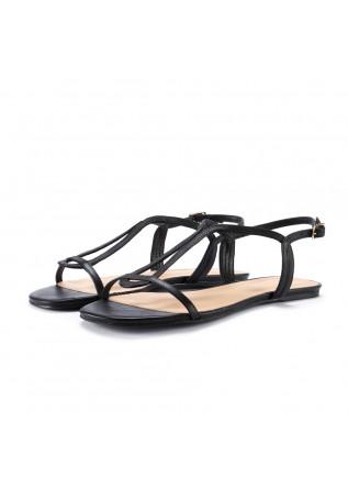 womens sandals miss unique smoothie black