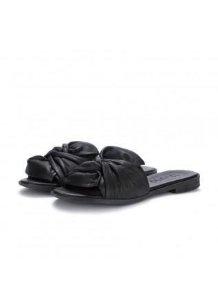 womens slider sandals bueno black