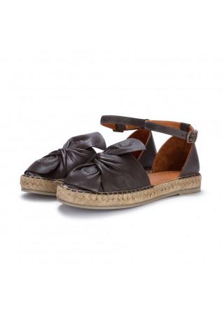 womens sandals espadrilles bueno brown