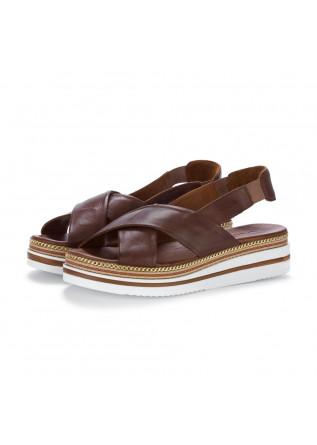womens sandals bueno chocolate brown